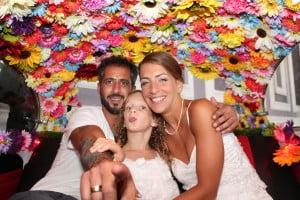 חתונה בערוגות הבושם גן אירועים