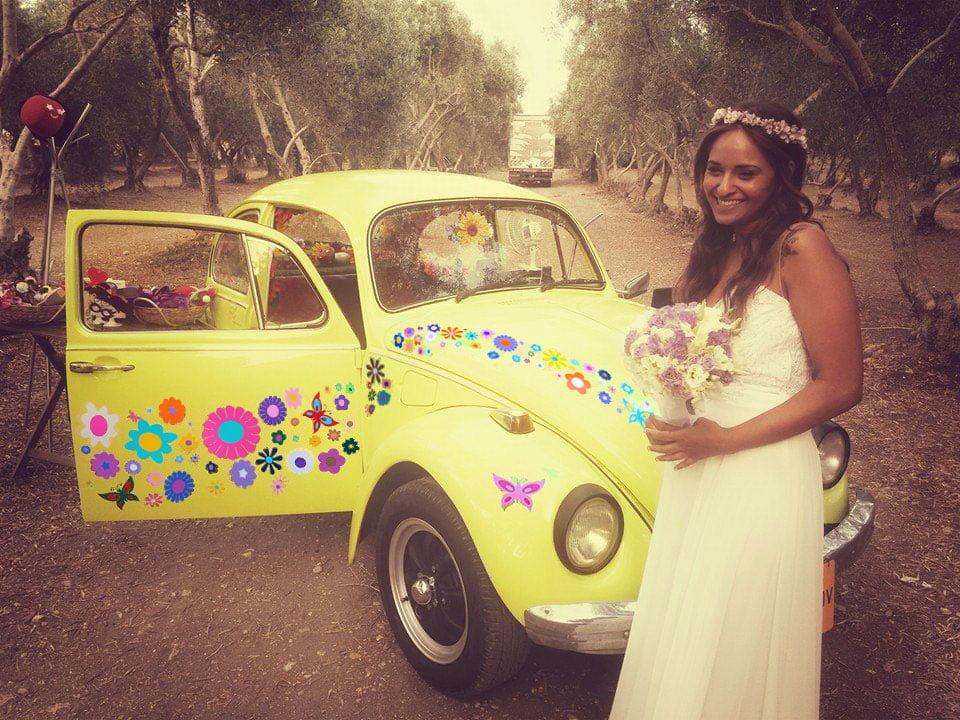 חתונה טבע