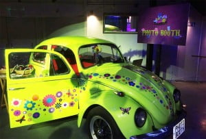 Photo booths in Vintage Cars